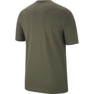 SB Dry Tee DFCT Logo T-Shirt - Medium Olive/Dark Sulfur