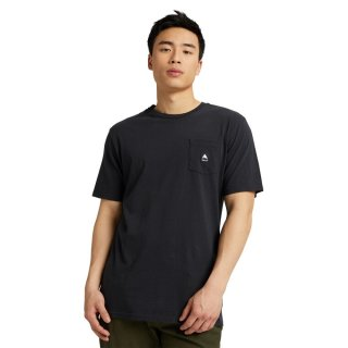 Colfax Organic Short Sleeve T-Shirt - True Black XL