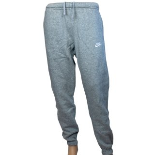 NSW Club Pant CF BB - DK Grey Heather/Matte Silver