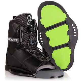 Transit Wakeboard Bindung - Black 8-10