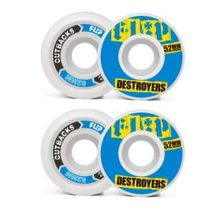 Flip Cutback Wheels 99A - Blue 52mm