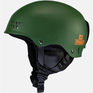 Phase Pro Helm K2Dialed Fit System - Forest Green L/XL